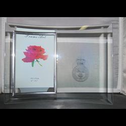 Glass Poppy Frame