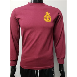 PT T Shirt Long Sleeve Maroon