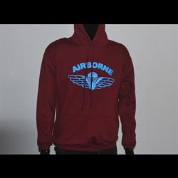 PT Airborne Maroon Hoodie Pullover