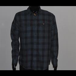 Black Plaid Shirt Lrg
