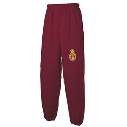 PT,SWEATPANTS, Closed leg MAROON 2XLarge