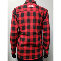 Red Plaid Shirt Large